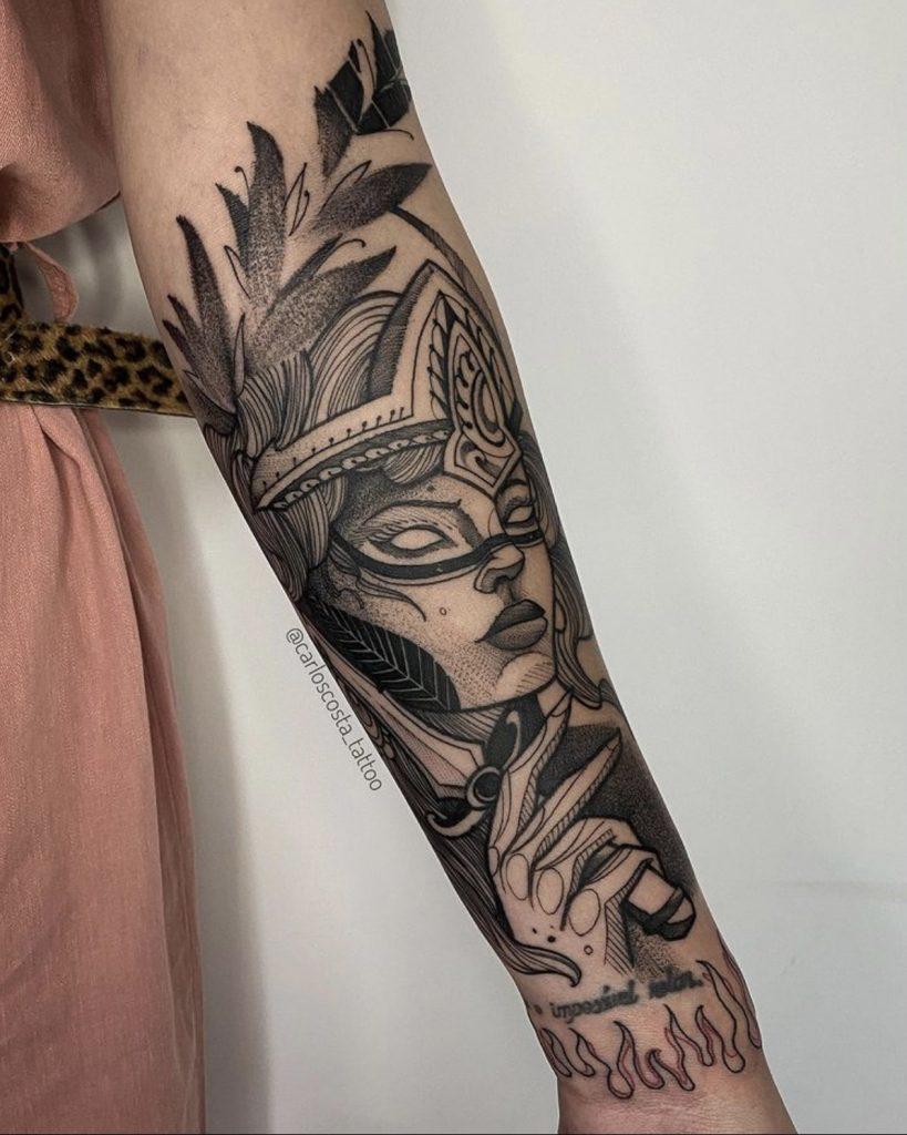 Foto de tatuagem feita por Carlos Costa (@carloscosta_tattoo)