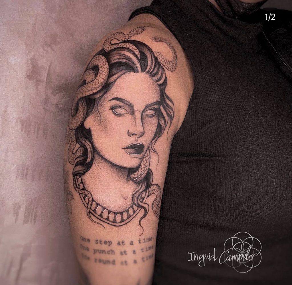 Foto de tatuagem feita por Ingrid Campelo (@ingridcampelo_)