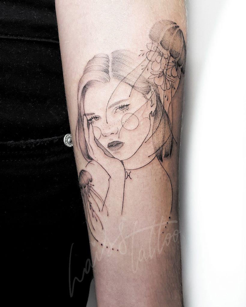 Foto de tatuagem feita por Lais Sampaio (@laiss.tattoo)