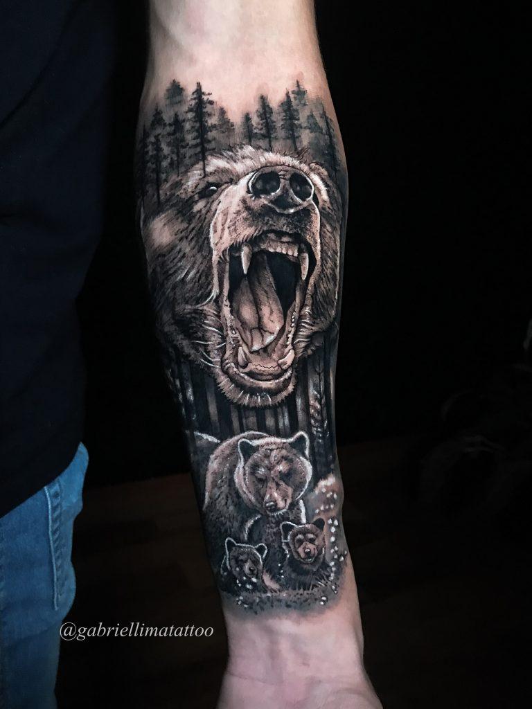 Foto de tatuagem feita por Gabriel Lima (@gabriellimatattoo)