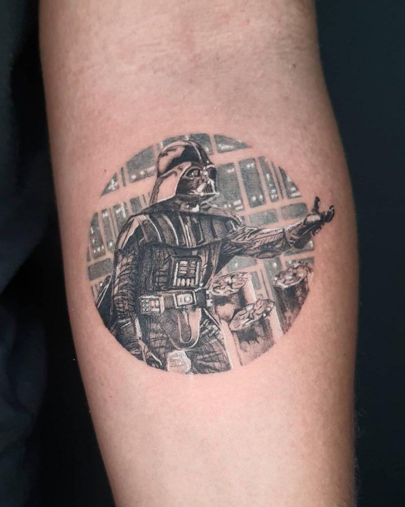 Foto de tatuagem feita por Daniel Coimbra (@danltattoo)