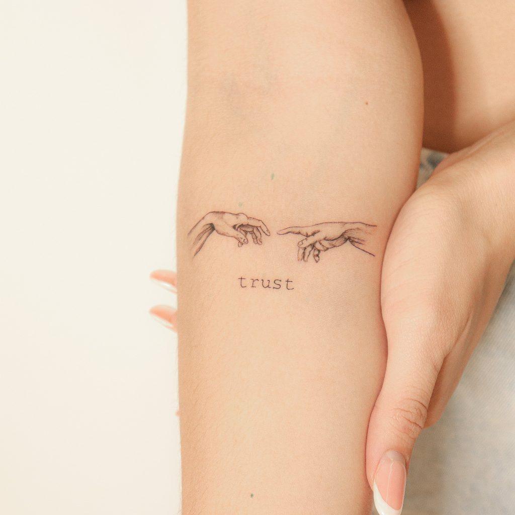 Foto de tatuagem feita por Merello (@henrique.merello)