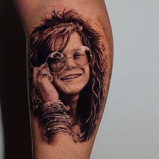 Foto de tatuagem feita por Matheus Santos (@matheussantostattoo)