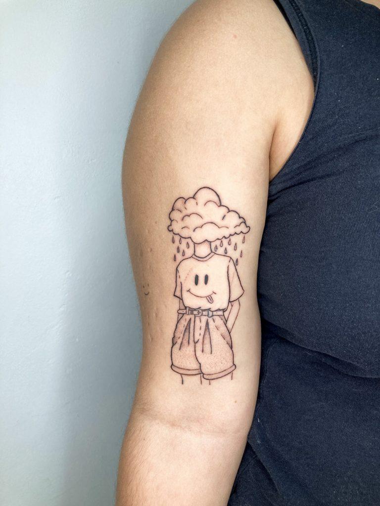 Foto de tatuagem feita por Marina Pessoa (@marina.pessoa.tattoo)