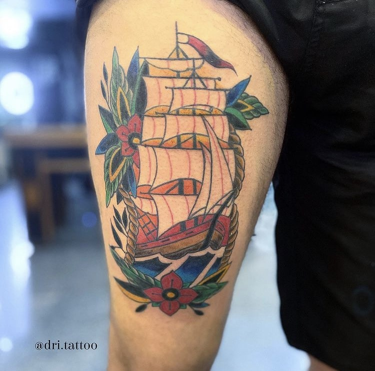 Foto de tatuagem feita por Adriana (@tattoo.dri)
