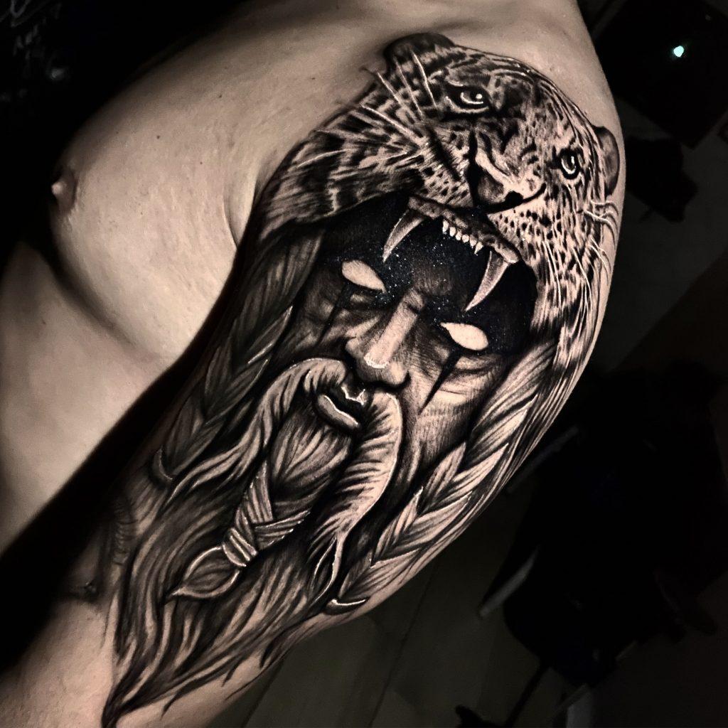 Foto de tatuagem feita por Müller tattoo (@tattoomuller)