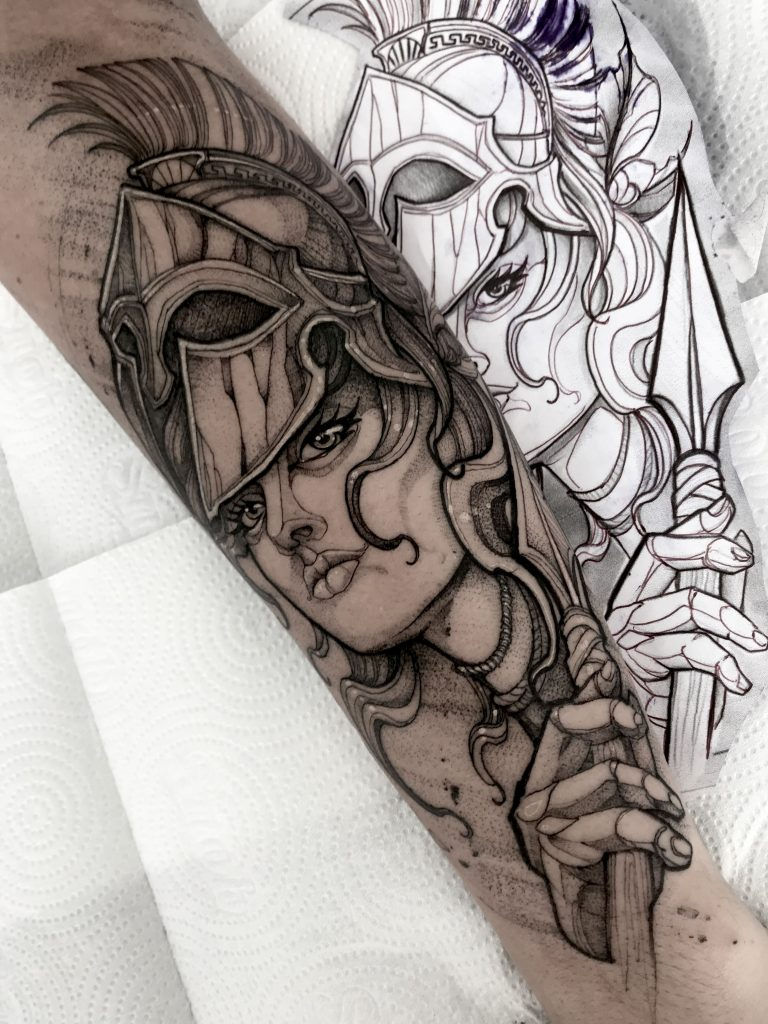 Foto de tatuagem feita por Jack willkins (@jackwillkins.ttt)