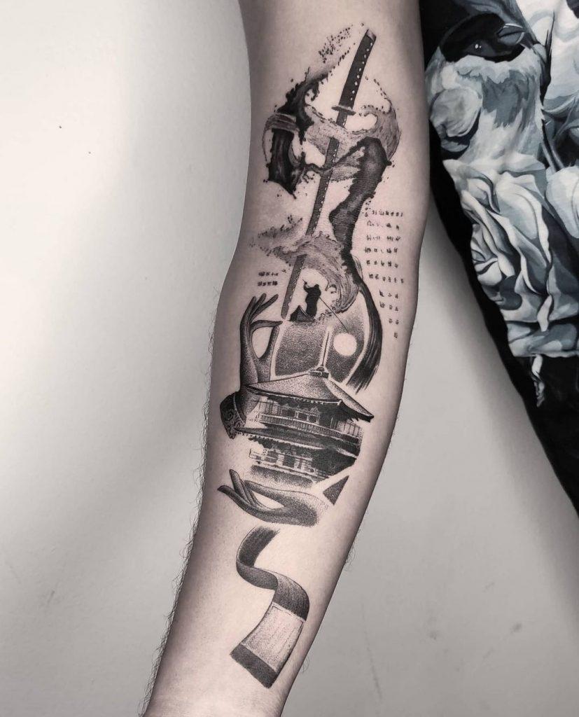 Foto de tatuagem feita por Diego Viana (@diegoviana_art)