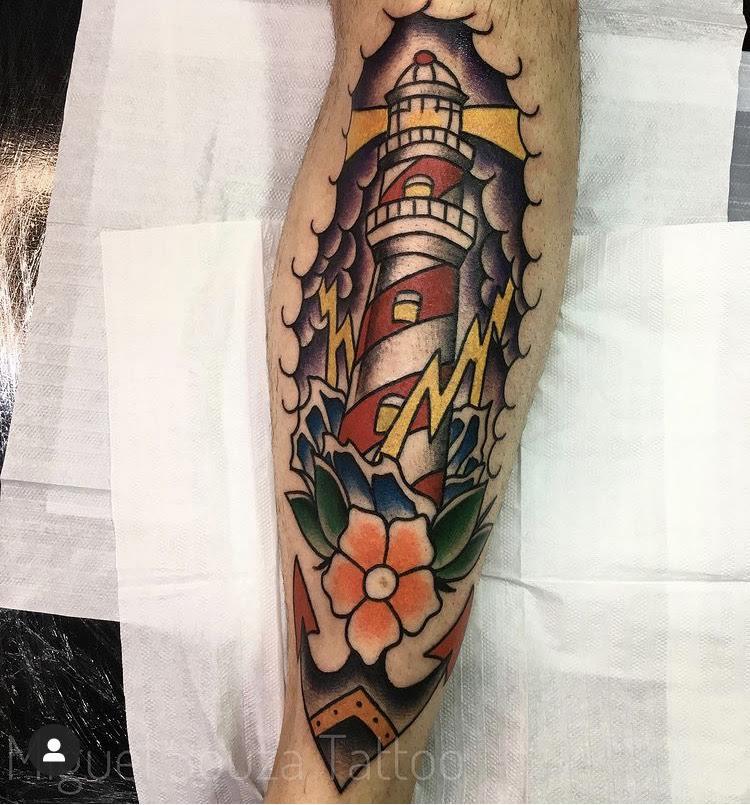 Foto de tatuagem feita por Miguel Souza (@msouzatattoo)