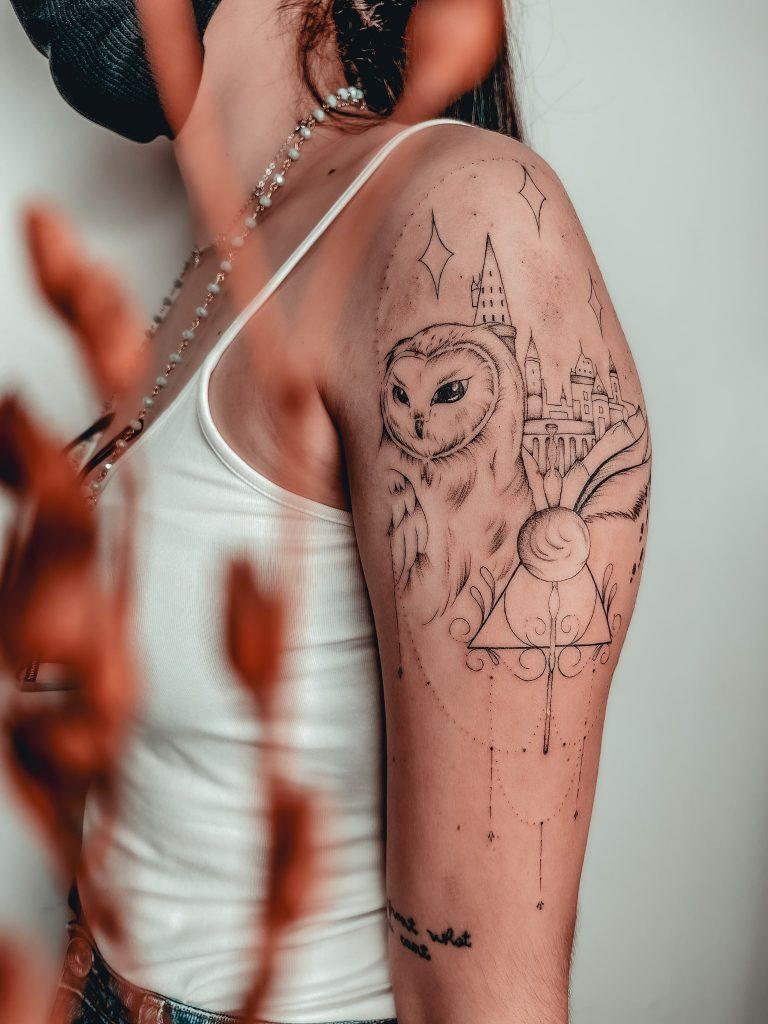 Foto de tatuagem feita por Renata Ataíde (@renataataide_tattoo)