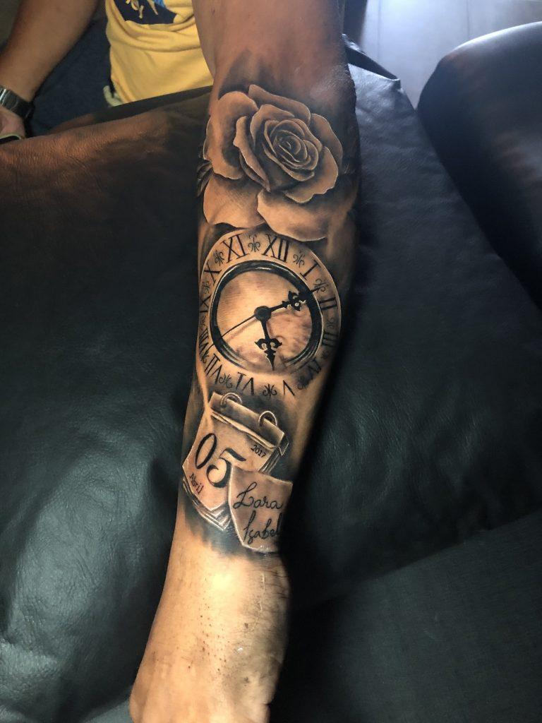 Foto de tatuagem feita por Vinicios Machado (@machadotattoo)
