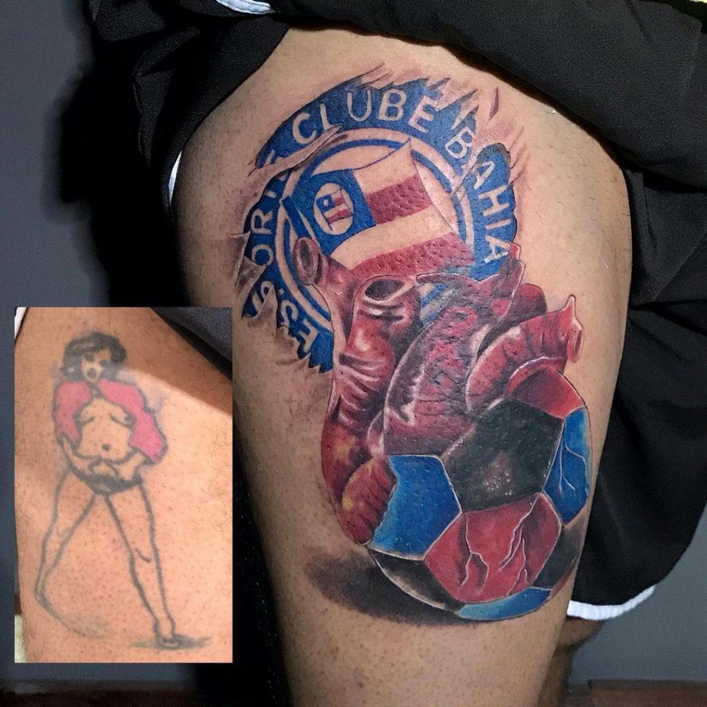 Foto de tatuagem feita por Evora Tattoo (@evoratattoo)