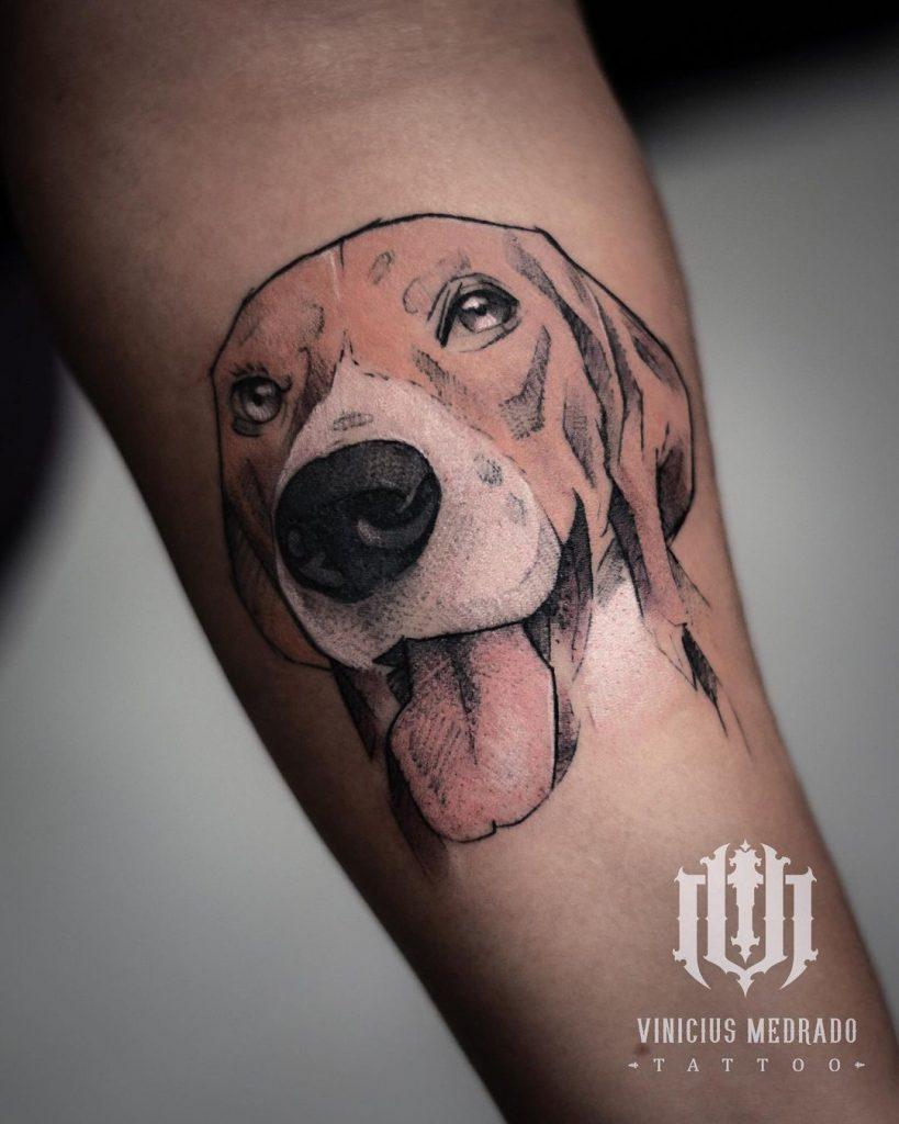 Foto de tatuagem feita por Vinícius Medrado (@viniciusmedradotattoo)