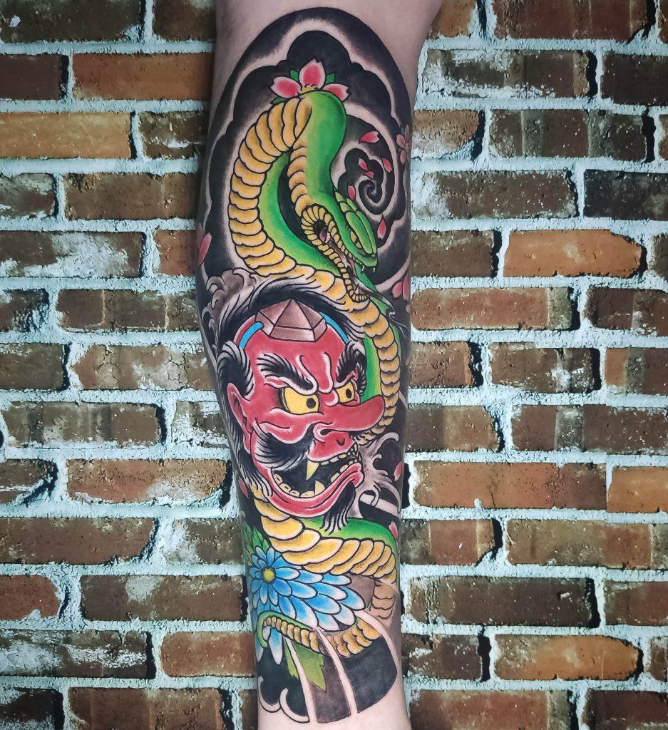 Foto de tatuagem feita por Têco Tattoo (@t)