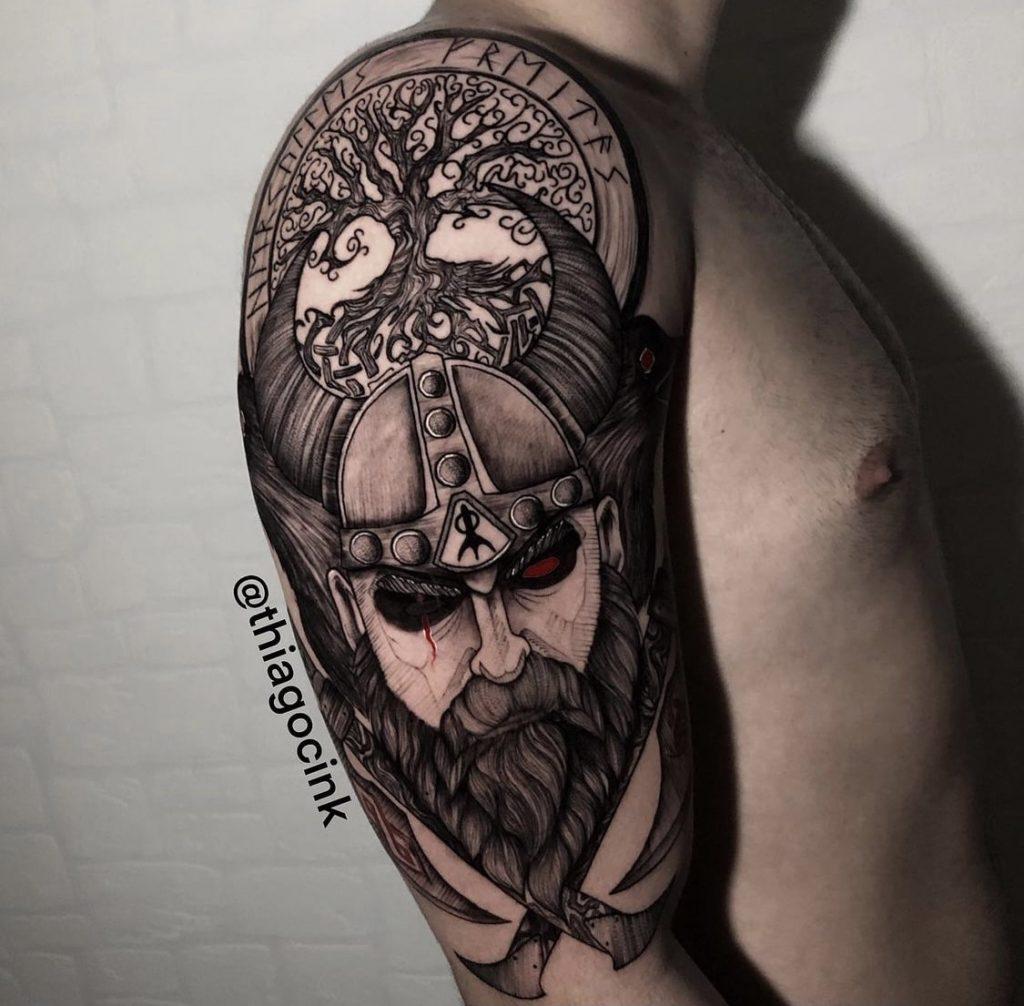 Foto de tatuagem feita por Thiago César (@thiagocink)