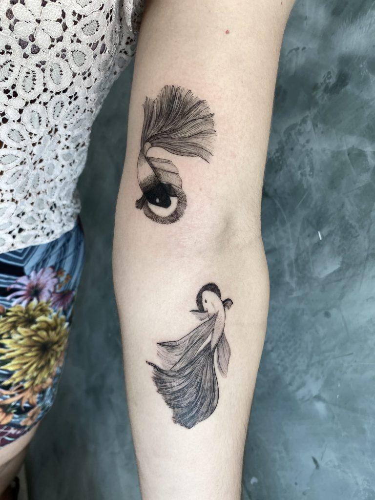 Foto de tatuagem feita por Gagabi (@gagabi.tattoo)