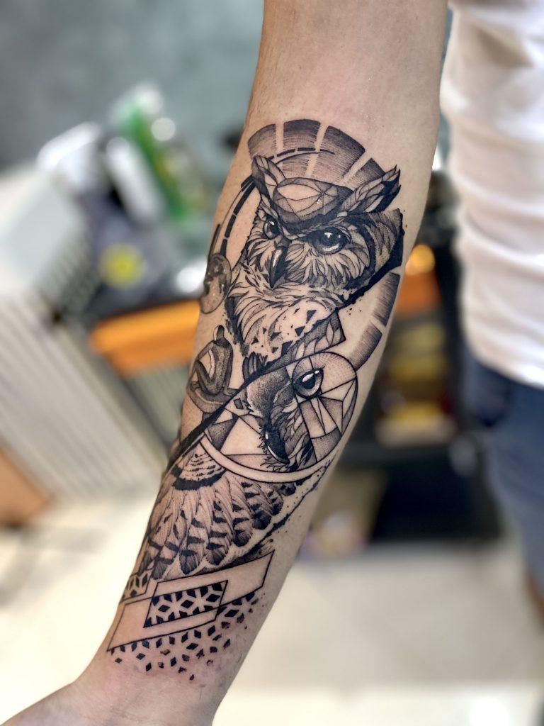 Foto de tatuagem feita por Erick torrez (@ericktorrez.tattooart)