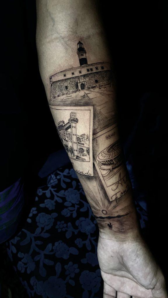 Foto de tatuagem feita por Maxwel Viana (@maxwel_tattoo2)