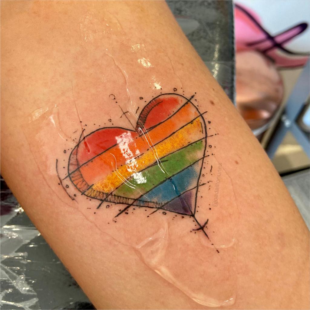 Foto de tatuagem feita por Adailton Nunes (@oadailtonunes)