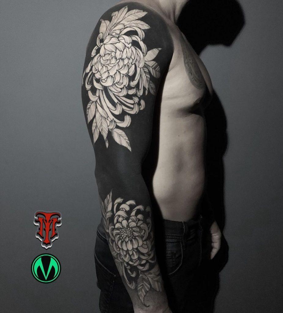 Foto de tatuagem feita por Juliano Mineiro (@minerotattoo)